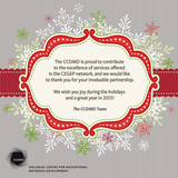 The CCDMD wishes you happy holidays!