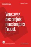 Appel de projets 2014