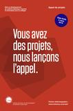 Lancement de l'Appel de projets du CCDMD 2016