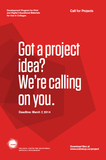 CCDMD Call for Projects 2014