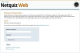 Netquiz Web beta version, at last!