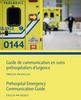 Nouveau au CCDMD : Guide de communication en soins préhospitaliers d'urgence