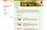 Invitation au lancement du site web Récolte forestière au Québec